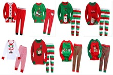 NEW Cartoon Christmas Pajama Sets for Children Sleepwear