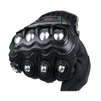 Yeni Madbike koruyucu Eldiven motosiklet Paslanmaz Çelik Spor Yarış Yol Gears Motosiklet motocicleta guantes moto luvas