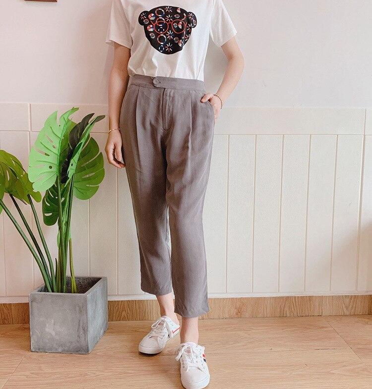 Las Envío Pyf19220mar4 La Base Oficina Pantalones De Primavera Mujeres Llegada Señora ¡diseño Nueva 2019 Gratis qBgSwvw7T