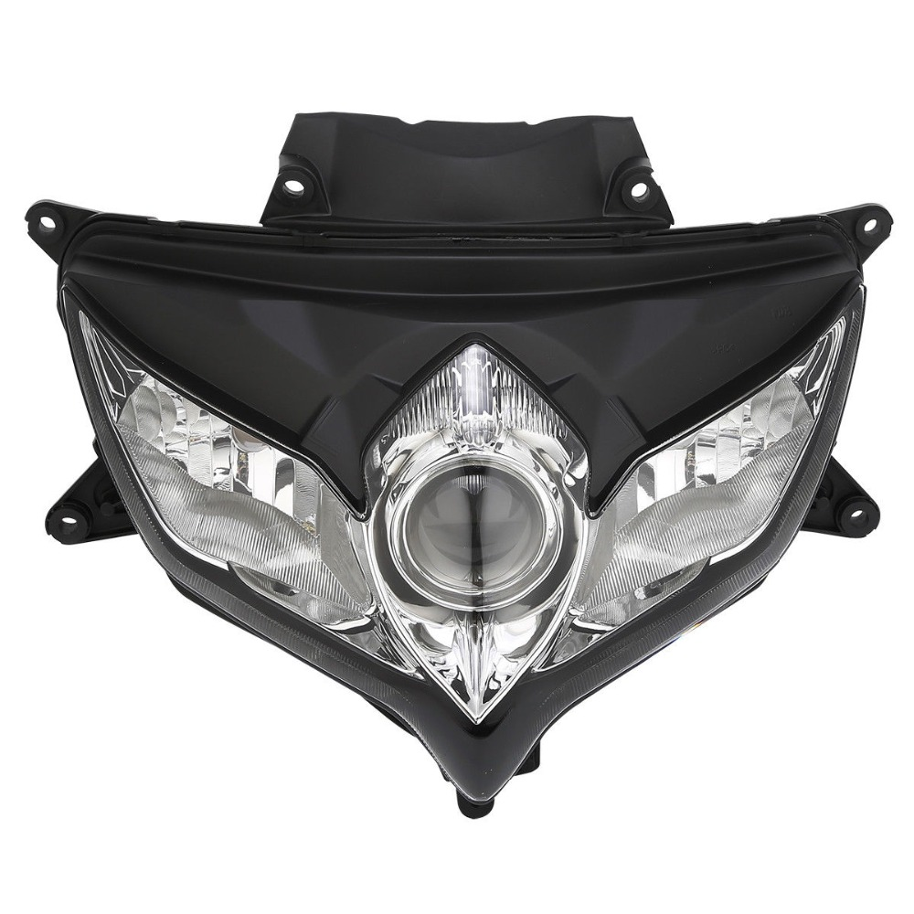 Motorcycle Front Headlight Head Light Lamp Assembly For Suzuki GSXR 600 GSX-R 750 2008-2009   Motorcycle Front Headlight Head Light Lamp Assembly For Suzuki GSXR 600 GSX-R 750 2008-2009