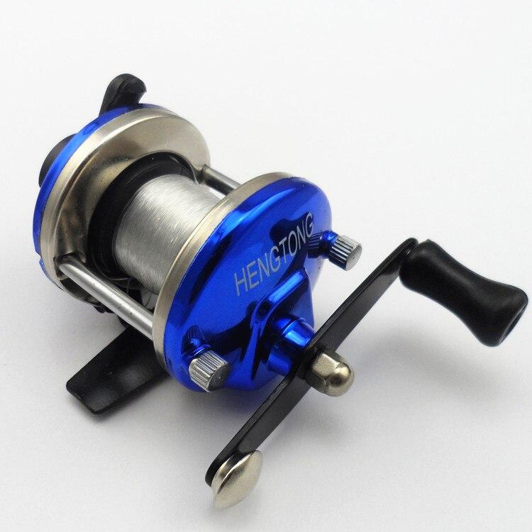 Anmuka small fishing reel special mini reel wheel rotation for Mini fishing reel