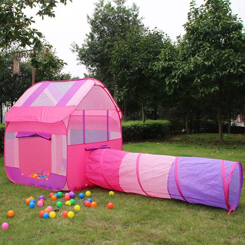Tente d'enfants bébé princesse grande salle de jeux grande maison en plein air intérieur bébé jouet cadeaux