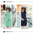 Maternity Nursing Dress For Pregnant Women Clothing 2016 Summer Fashion  Breastfeeding Skirt Pregnancy Clothes Lactation