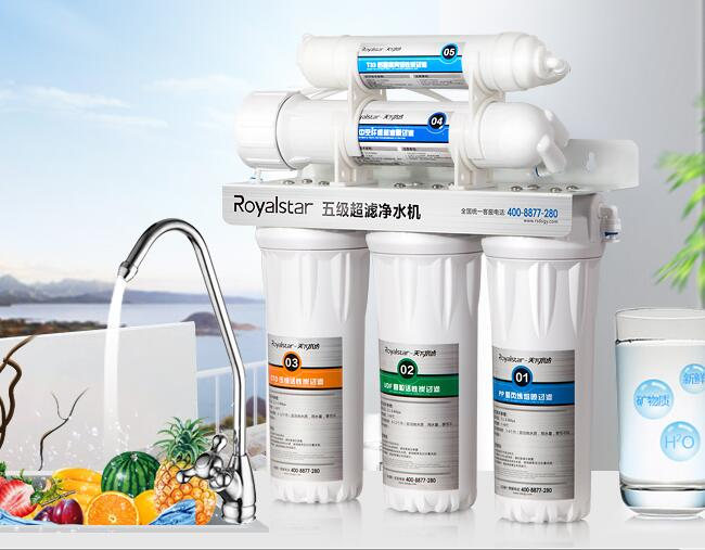Royalstar water purifier 16D five ultrafiltration water ...