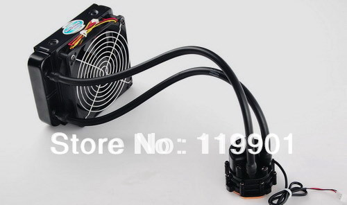 Syscooling 120mm Radiator SC-X61 Integrated CPU Watercooling Kit ...