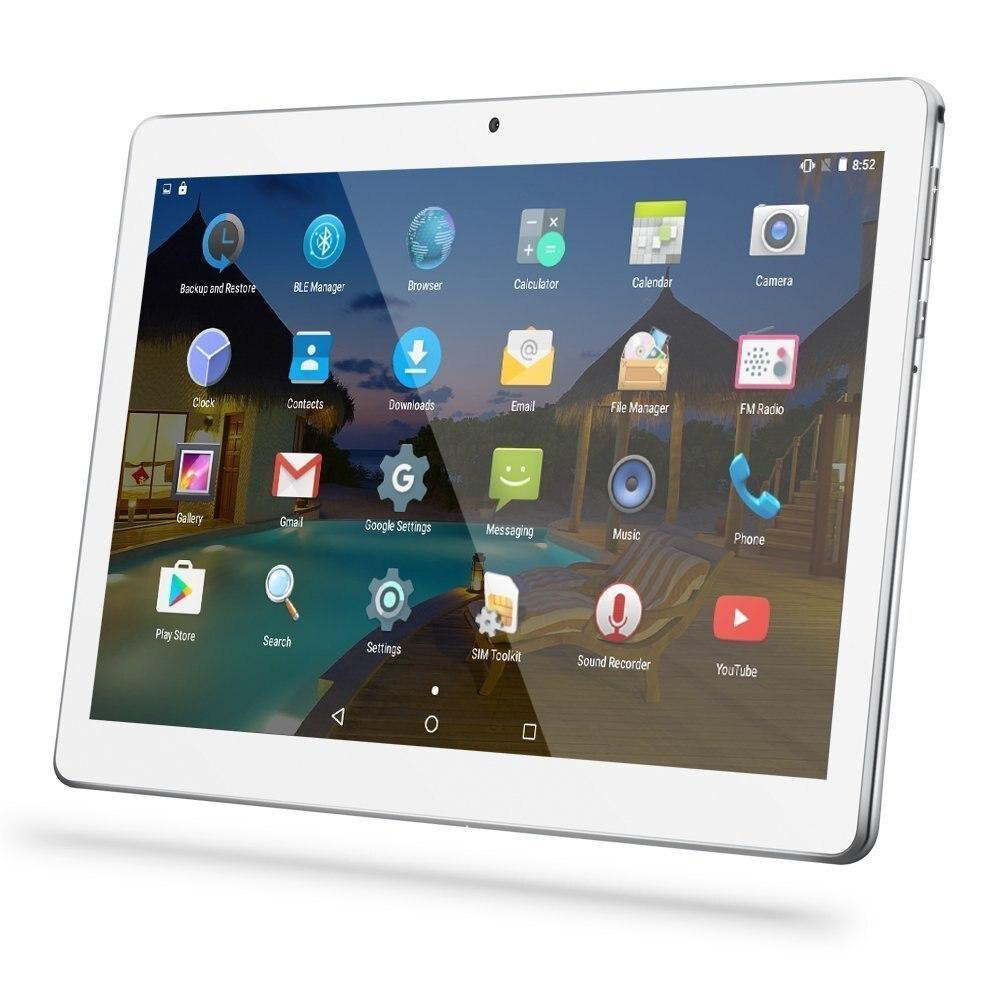 Heiße Neue Android 7.0 Tabletten 3G WCDMA Octa-core Dual SIM 4 GB RAM 32 GB ROM 1280*800 HD IPS 5.0MP bluetooth wifi GPS Tablet 10,1