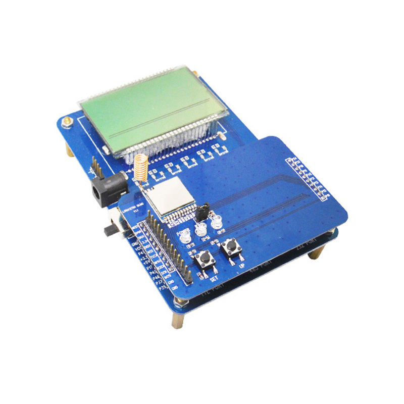 2pcs lot NiceRF LCD Display Testing Demo Board for LoRa1276 or LoRa1278 Transceiver Module sx1276