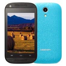 Original Logicom Wave 3.5 Android 4.4 Unlocked Smartphone Celular Mobile Phone 512MB RAM 4GB ROM No Plan Cellphone for Kids Gift