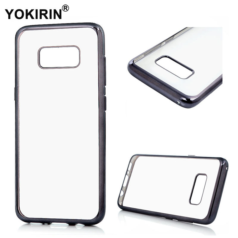 YOKIRIN Electroplating Clear Soft TPU Phone Case For