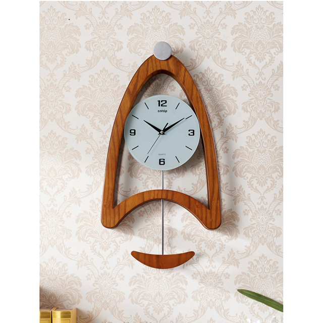 Clock Saat Wall Clock Relogio de Parede Horloge Murale Reloj de Pared Relogio Parede The living room bedroom creative pendulum