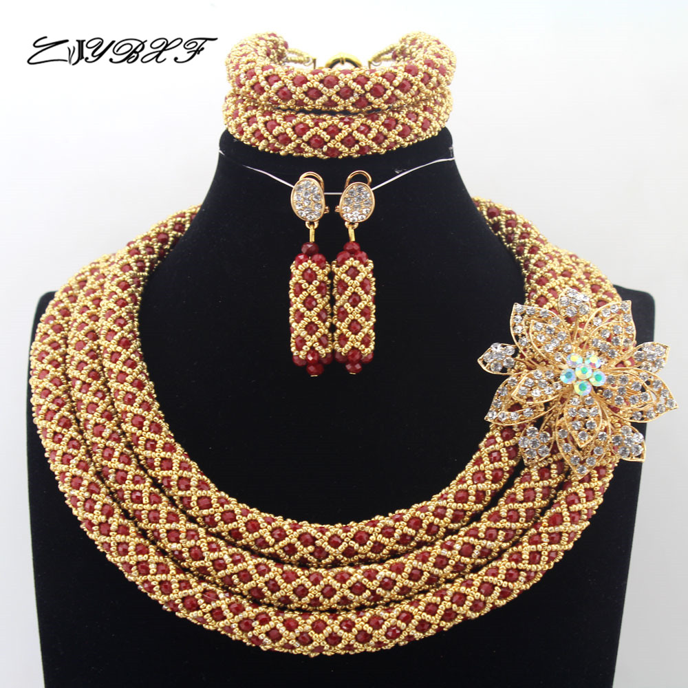 2017 NEW Nigerian Wedding bridal Jewelry Sets African Beads Jewelry Sets Full Beads Indian dubai women necklace Sets N00062017 NEW Nigerian Wedding bridal Jewelry Sets African Beads Jewelry Sets Full Beads Indian dubai women necklace Sets N0006
