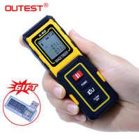 OUTEST Mini télémètre Laser télémètre Laser 40 M/30 M métro Laser compteur outil règles construire dispositif de mesure