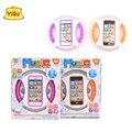 Juguete juguete del bebé embroma el teléfono móvil de pantalla táctil aprender inglés educación vocal toys for baby toys bebé kids learning machine
