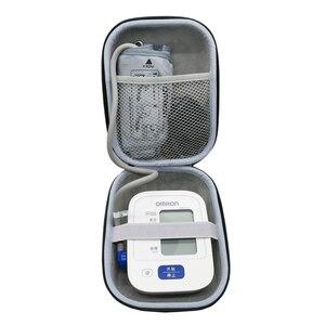 Image 3 - Nieuwe EVA Cover Case voor Omron 10 Serie Draadloze Bovenarm Bloeddrukmeter (BP786/BP785N/BP791IT) reizen Opslag Gevallen