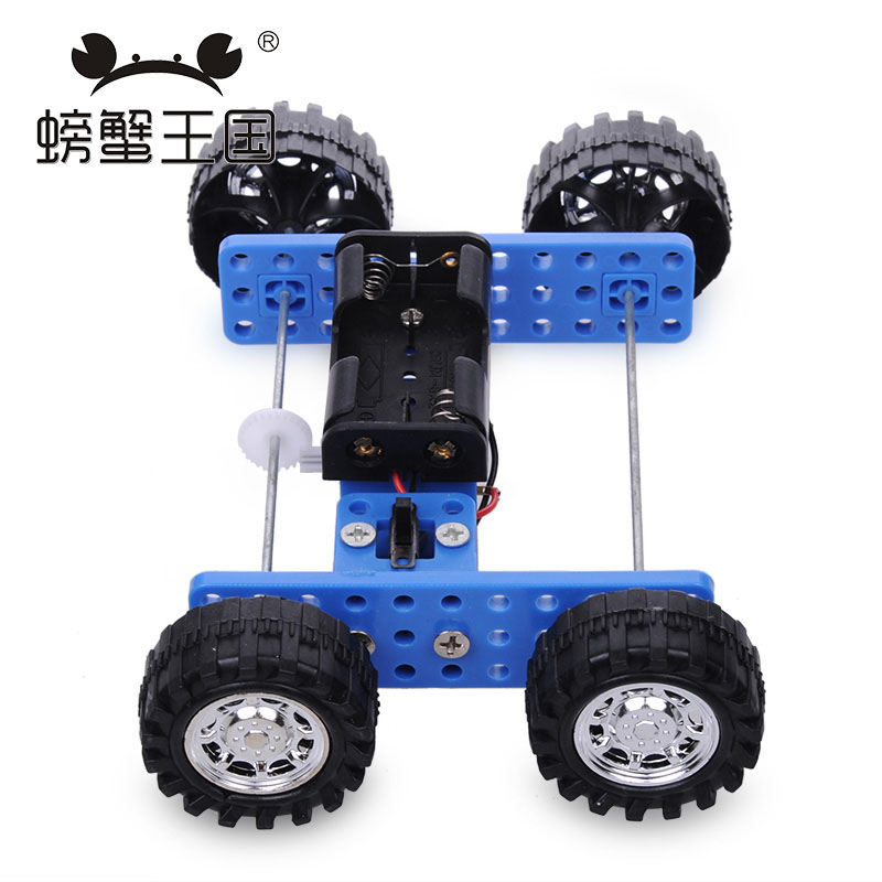 PW M31 DIY Mini Car Technology Invention Funny Puzzle