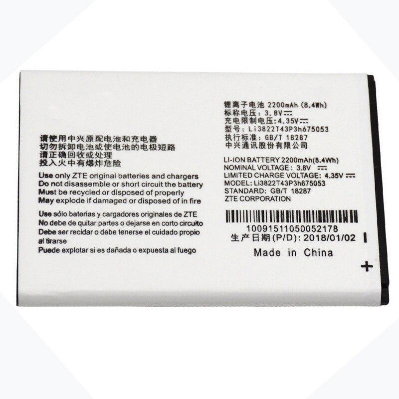 Batterie de téléphone d'origine lame QLux pour lame ZTE QLux Q Lux A430 Q Lux 3g 4g Beeline Pro Li3822T43P3h675053
