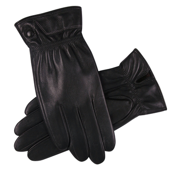 Genuine Leather Gloves Male Autumn Winter Plus Velevet Fashion Driving Thicken Keep Warm Touch Screen Sheepskin Gloves M18010NC leather gloves female autumn winter keep warm plus velvet thicken touch screen sheepskin genuine leather woman gloves l18011nc 9