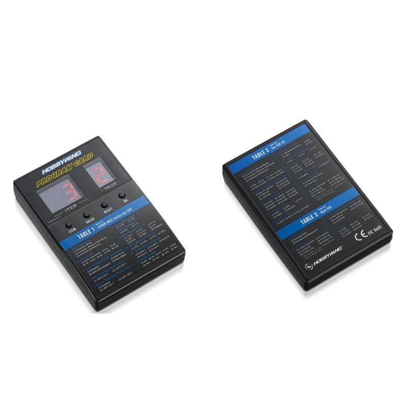 HobbyWing 30501003 LED program Box General for Platinum FlyFun XeRun EzRun QuicRun SeaKing series ESC