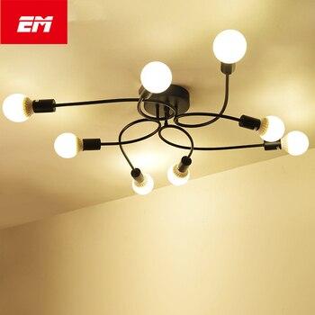 Lámparas de techo Led Vintage para sala de estar luminacion de techo...