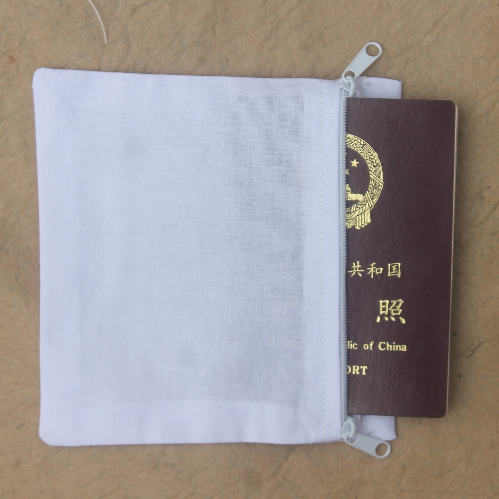Two-way Zippers Secret Pockets For Money For Passport For Cell Phone To Sew Into Pants Or Coats (10 Pack)(China)