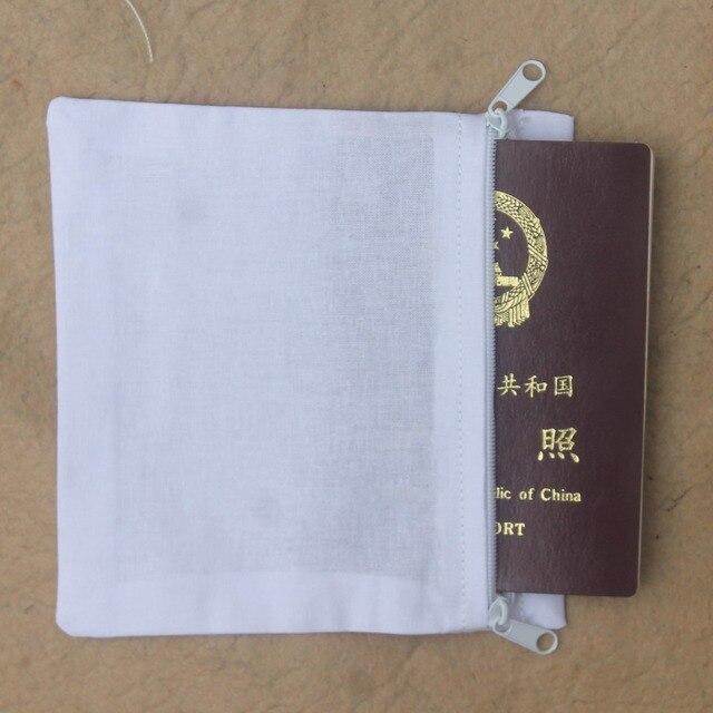 Двусторонней молнии потайные карманы для денег для паспорта для сотового телефона шить в брюки или пальто (10 упак.)