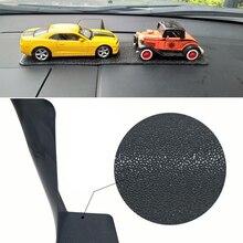 Large Long Car Dashboard Sticky Pad Non-Slip Mat Gel Magic Anti-slip Mat For Phone Key GPS Tablet Holder Car-styling PU Leather