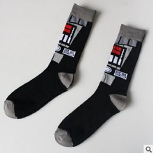 Star Wars Vader Pattern Men's Socks