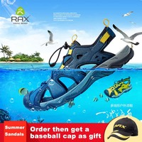 RAX 2018 Summer New Hiking Sandals Men Outdoor Sports Sneakers Breathable Shoes Men Hiking Shoes Lightweight Quick Drying 358