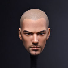 1/6 Asura Saint Monk Head Tang Monk Head Sculpt Carving Bald Beard Version Tencent Game Series F Man Body