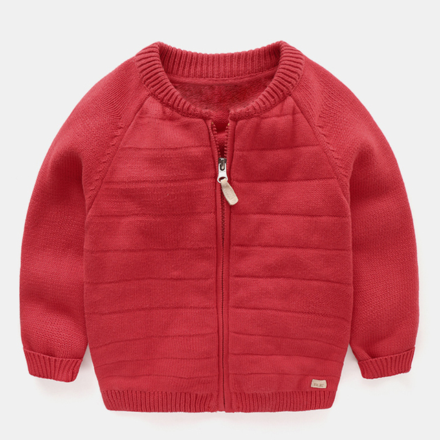 6a97cb130 Mudkingdom Toddler Boys Girls Spring Knitted Cotton Cardigans ...
