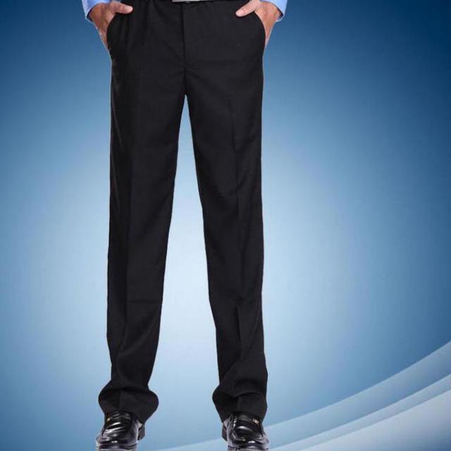 2c03f5e31f91a4 US $19.99  Men's Suit Pants Fashion Thick Dress Pants Men Slim Classical  Men Dress Pants Taille 42 44 Costume Pantalon Homme-in Suit Pants from  Men's ...