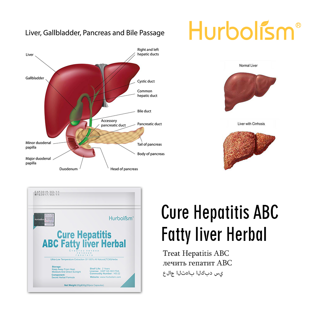 Natural Herbal Formula To Cure Liver Diseases, Prevent Hepatitis A, B And C, Cure And Prevent Cirrhosis, Fatty Liver Disease