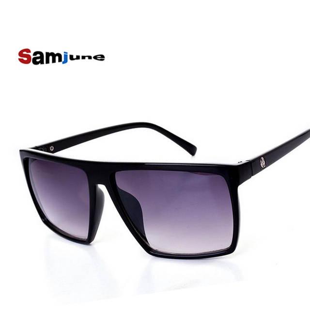 100ed83c37d Online Shop Brand retro Steampunk frame SKULL Square male logo Sunglasses  Men All Black oversized big sun Glasses for men Women sun glasses