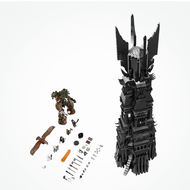 LEPIN 16010 2430Pcs Lord of the rings Lord of the rings Model set Building Kits Model Compatible legoed 10237 in stock free shipping lepin 16010 2430pcs lord of the rings lord of the rings model set building kits model compatible10237