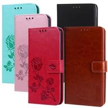 Ulefone Power 3 3S funda de lujo de cuero PU funda de tarjeta monedero para Ulefone S7 S8 Pro fundas metálicas Flip Stand bolsas de teléfono