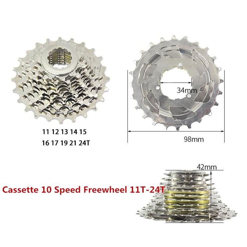 Cassette 7s / 8s / 9s / 10Speed Bicycle freewheel Steel Road - Հեծանվավազք - Լուսանկար 5