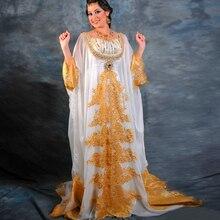 Muslim Women Arab Gown Hijab Long Dress Dubai Abaya Cap With Sleeve Fashion Formal Moroccan Arabic Kaftan Style Evening Dresses