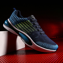 Summer 2019 Man Running Shoes Blue Red Sneakers Men Breathable Fly Wire Athletic Men Footwear Discount Male Sport Shoes man running shoes black red white sports shoes for male spring summer athletic footwear male breathable light sneakers running