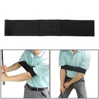 Golf Arm Motion Correction Belt Training Aid New Analyzer Club Grip Practice