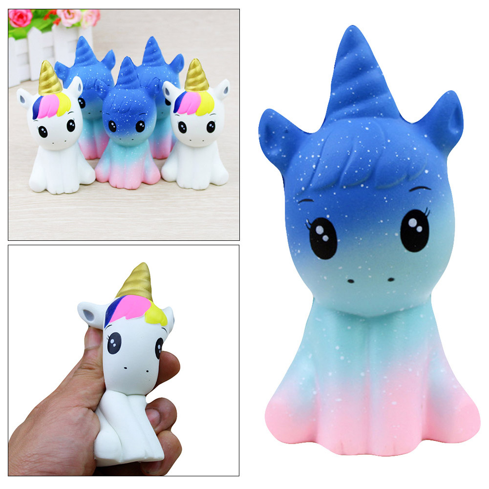 Decompression Toy Relief-Toy Unicorn Stress Squishe Squeezing Animal Rebound Slow Cartoon