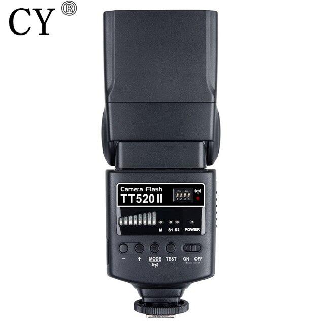 New Inno Godox TT520II Camera Flash ThinkLite Electronic On-camera Speedlite for Canon Nikon Pentax Olympus DSLR Cameras