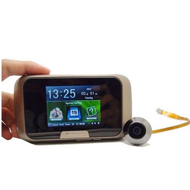 multi language 2.8 LCD Digital Door Peephole Camera Viewer Photo and Video Recording Wireless Door Camera video viewer peephole