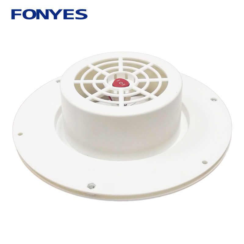 Tenaga Surya Ventilator Ventilasi Udara Fan untuk Kafilah Mobil Perahu RV Rumah Hijau Rumah Exhaust Kipas Ventilasi Ekstraktor Udara