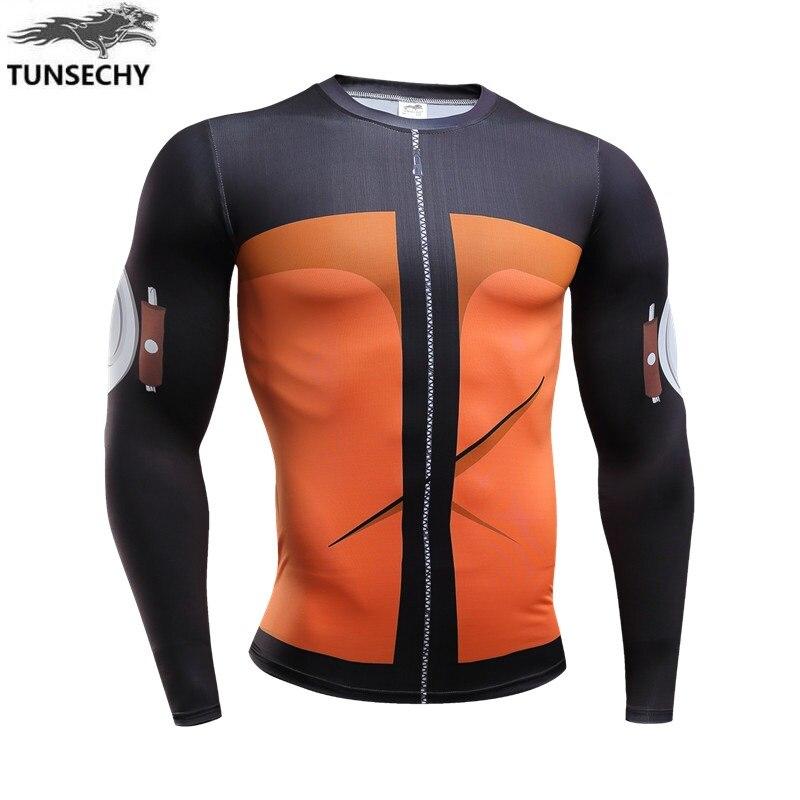 2018-2019 New conjunto ciclismo feminino naruto Wave shui door digital bicicleta long sleeve T-shirt mens cycling jersey T-sh P