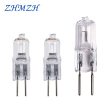 AC 12V Halogen Lamp Bead G4 20w 35W Low-pressure Light Beads G6.35 50W Crystal Lamp Pins Small Halogen Bulb Warm White(China)