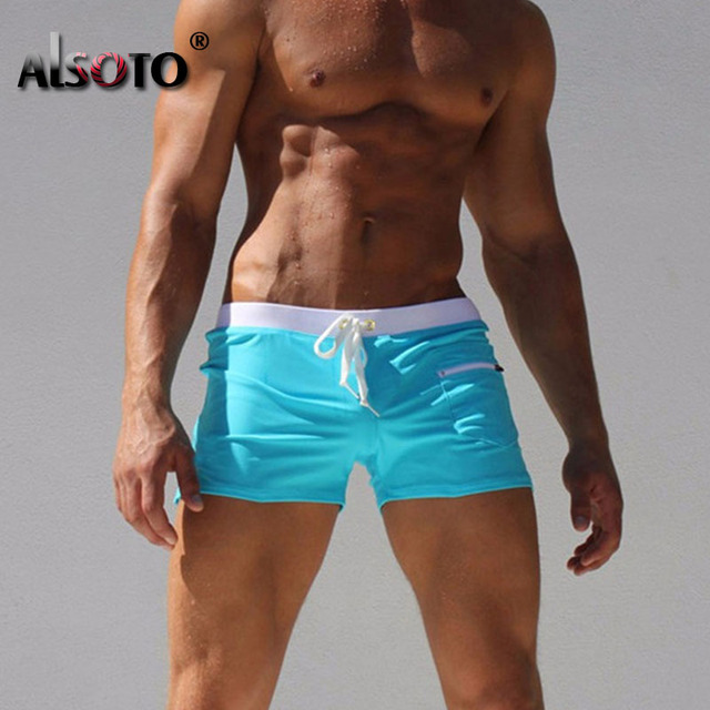 New Beach Shorts men Sexy trunks sunga hot mens briefs swimwear mayo zwemshort heren sungas de praia homens calzoncillos
