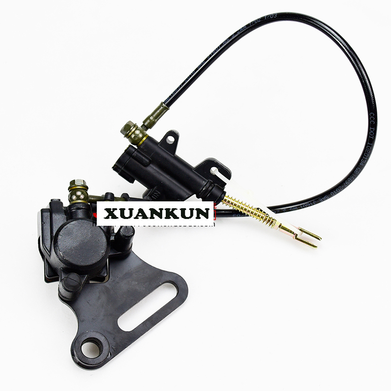 XUANKUN  Off-Road Motorcycle Accessories T8 PH 160 KTM Rear Brake Pump Brake Assembly After The Brake Card Embedded xuankun off road motorcycle accessories off road vehicle drum core