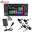 New Car DVD Player TPMS Tire Pressure Monitoring System With 4 Internal or External Sensors Automatic Detection Alarm