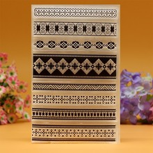Clear Stamp Scrapbook DIY photo cards rubber stamp seal stamp Vine Flower Lace Line transparent silicone transparent stamp A108