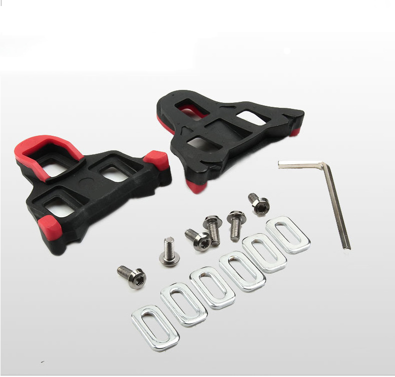 For Shimano SM-SH11 SPD-SL Road Bike Cycling Self-locking Pedal Cleats SPD Set discount sale